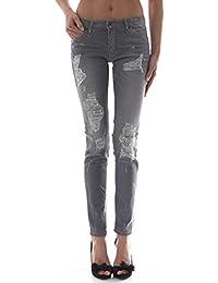 PLEASE - P95hco0t30 femme jeans pantalon slim fit