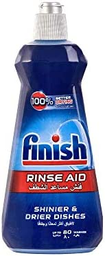 Finish Dishwasher Rinse Aid Liquid - 400 ml