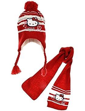 Hello kitty - Set de bufanda, gorro y guantes - para niña