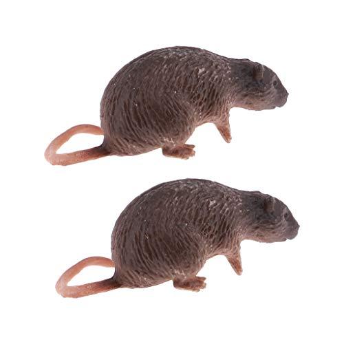 Baoblaze 2 PCS 1: 6 Maßstab Ratten Maus Zubehör für 12 Zoll Action Figur