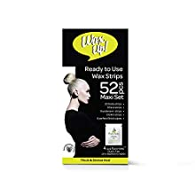WAX UP - Ready-to-Use Wax Strips Maxi Kit, Thick and Dense (52-Pack)