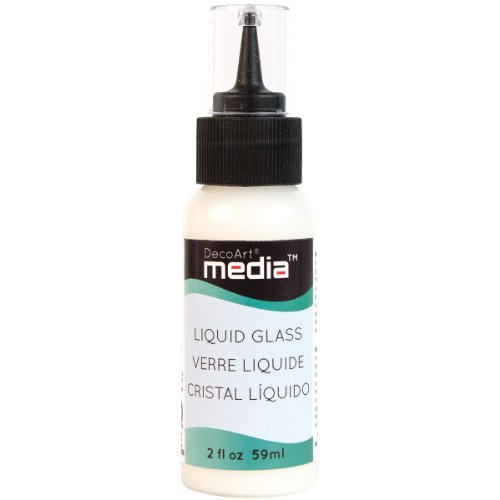 Media Liquid Glass 2Oz-Clear