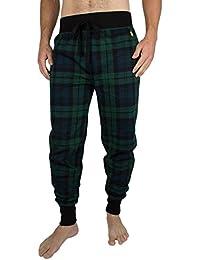 Polo Ralph Lauren Homme Logo Vérifié Pyjama Bottoms, Vert