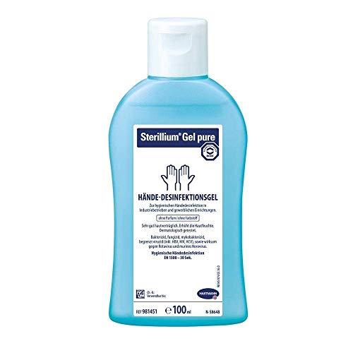 Hartmann Sterillium® Gel pure Hände-Desinfektionsgel, Desinfektion, 85% Ethanol, 100 ml