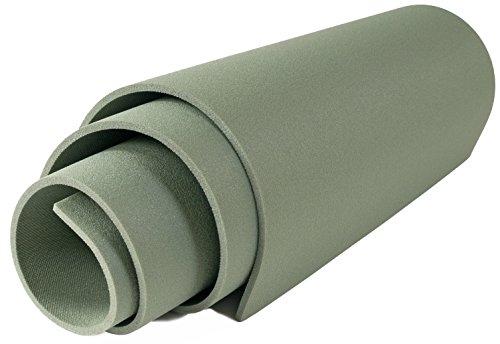 Isomatte 180x50cm Campingmatte Fitnessmatte Gymnastikmatte Turnmatte Yogamatte , Farbe:grün