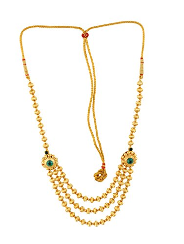 Womens Trendz Jav Mani Triveni Haar Necklace  available at amazon for Rs.1030
