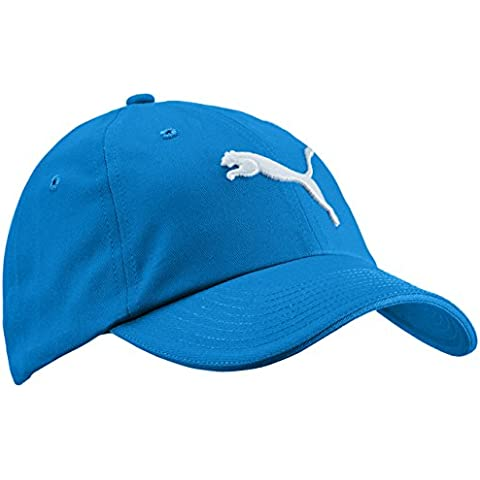 Puma, Cappello Essential Unisex adulto, Blu (Strong Blue-Cat Logo), Taglia unica