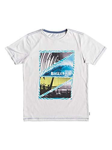 Quiksilver Jungen Youth Dream T-Shirt, Gardenia Heather, M/12 - Quiksilver-jungen Kleidung