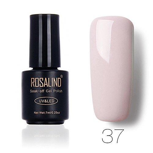 DressLksnf Esmalte de Uñas Elegante Moda para Mujer Esmalte de Uñas Color Sólido Esmalte Permanente...