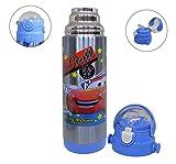 Jiada Cartoon Printed BPA Free Stainless Steel Kids Sipper/Vaccum Water Bottle 500 ML