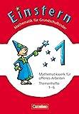 Einstern - Ausgabe 2010: Band 1 - Themenhefte 1-6 und Kartonbeilagen im Schuber: Verbrauchsmaterial ( Mathematik für Grundschulkinder) - Roland Bauer, Jutta Maurach