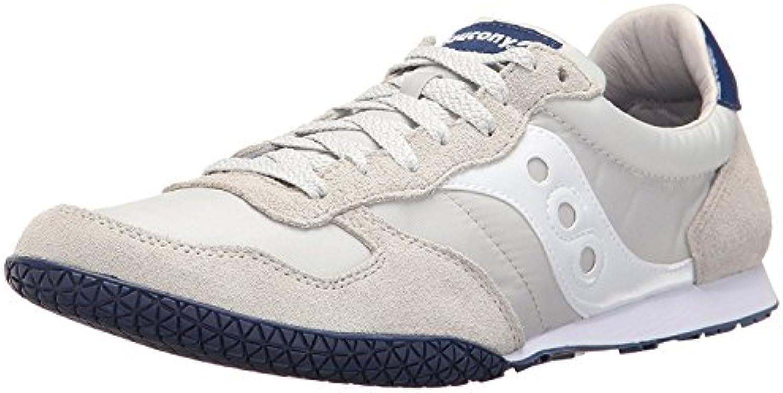 Saucony Originals Men'S Bullet Classic Sneaker, Gris Claro/Azul, 37.5 D(M) EU/4 D(M) UK