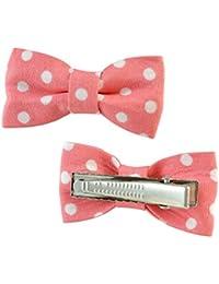 Sarah Pink Metal Hair Clip For Girls