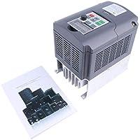 380V 5.5KW Inversor de frecuencia, monofásico Convertidor de frecuencia de 3 fases de salida del convertidor de velocidad ajustable de frecuencia de accionamiento del inversor, para el motor de 3 fases