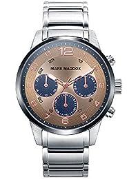 Reloj Mark Maddox Hombre HM7016-45 Acero Multifunción