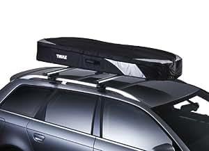 Thule 603500 Coffre de Toit Voiture Pliable Ranger 500, 260 L, Noir