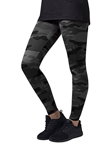 Urban Classics Ladies, Leggings Donna, Mehrfarbig (Dark Camo 784), W42