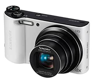 Samsung WB150F Compact Digital Camera - White (14.1MP, 18x Optical Zoom) 3.0 inch LCD WIFI Version