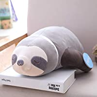 ATA19 - Stuffed Animals - 1pc Soft Simulation Cute Stuffed Sloth Toy Plush Sloths Soft Toy Animals Plushie Doll Pillow for Kids Birthday Gift
