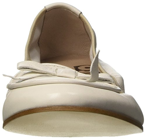 1960Travel Damen 21565 Ballerinas Bianco Sporco (Panna)
