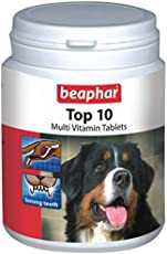 Beaphar Top-10 Dog Supplement, 60 Tablets