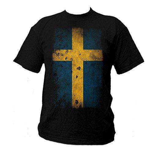 shirtmachine Schweden- Flagge (L)