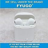 Fyugo™ New Mini Wireless Bluetooth Earphone with Headphones Charging Box Stereo Earbud Headset