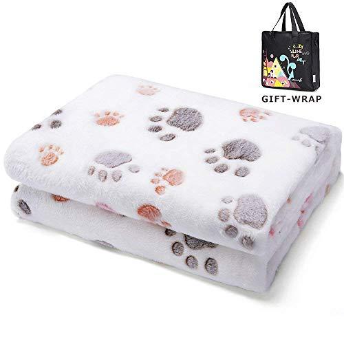 Allisandro Super Softe Warme und Weiche Decke für Haustier Hundedecke Katzendecke Fleece-Decke/Tier...