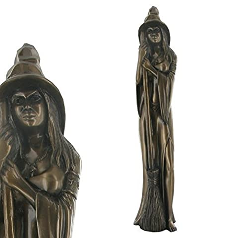 Bronze Witch Figure (Large) H44cm - Design Clinic