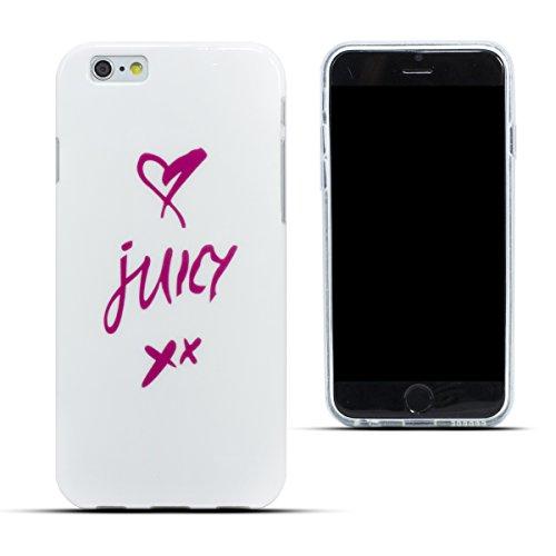 Zooky® Cover di gel TPU Juicy per Apple iPhone 6 (NON iPhone 6 Plus)