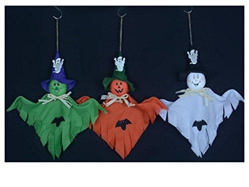Tentop Scary Halloween-Ghost Dekorationen , für Home, Bars, KTV, Supermarkt Dekorationen (3er Pack)