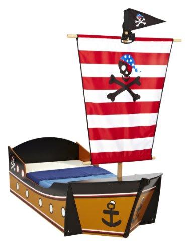 HelloHome-Letto per bambini, motivo nave dei pirati