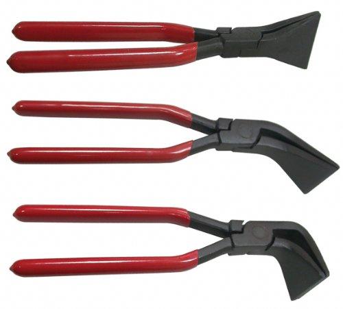 Alkan-Werkzeug Lot de 3 pinces à biseauter couvreur Angles de...