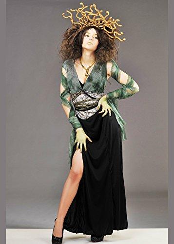 Magic Box Int. Womens Medusa Kostüm mit Kopfbedeckung