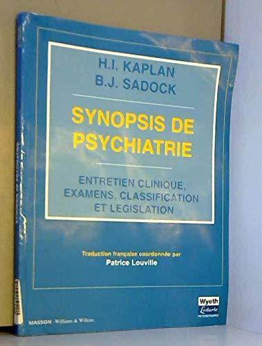 Synopsis de psychiatrie