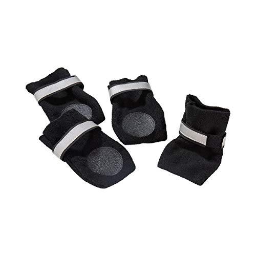 d602da50876c0f Unbekannt Pfötchen-Schuhe 4St, Haustierschuhe, Pfotenschutz, verstellbare  Klettverschluss Schuhe, Re