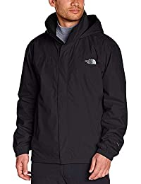 The North Face M Resolve Jacket Chaqueta Impermeable, Hombre, TNF Negro, M