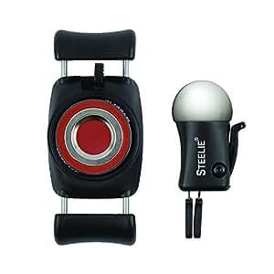 Nite Ize STFK-01-R8 Original Steelie FreeMount Vent Kit - Adjustable Magnetic Bracket + Car Vent Mount for Smartphones