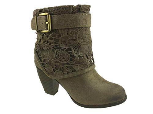 Mc Footwear - Botas de vaquero chica mujer , color marrón, talla 38 EU