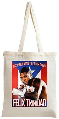 Felix Trinidad Poster Tote Bag -