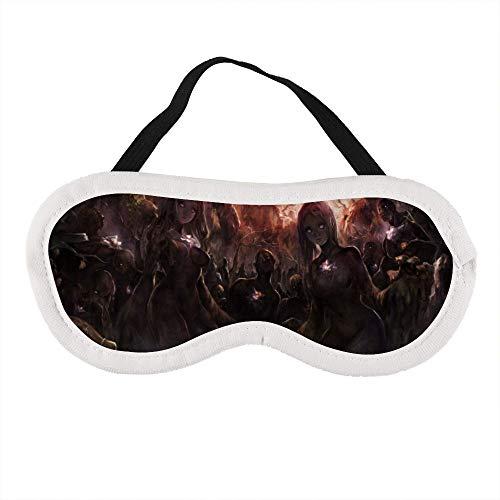 p Maske Soft Travel Blindfold 100% Light Blocking komfortabel Sleeping Maske Entspannung Best Eye Shades Luxurious Eye Maske ()