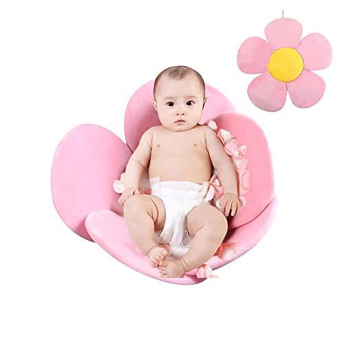 PER Blume Baby Badematte Badewanne Sitze Tragbare Badewanne Faltpolster Infant Bad Kissen-Rosa