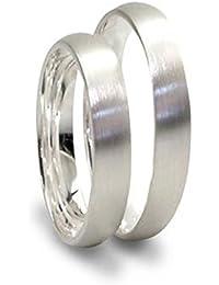 Hochzeitsringe Silber Matt