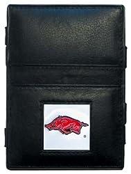 NCAA Arkansas Razorbacks Leather Jacob's Ladder Wallet