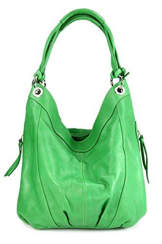 Belli , shoppers femme vert pomme