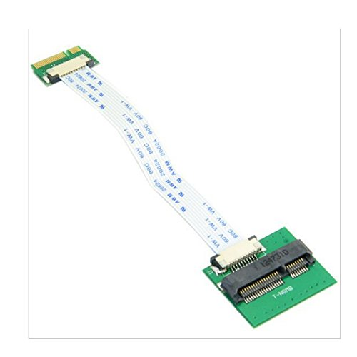 adaptare Adapter mit flexiblem Folienkabel für Micro-SATA-SSD, 1 Stück, 40551 (Carbon X1 Ssd)