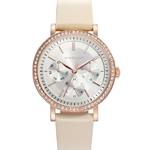 Viceroy 471152 – 17 Ladies Watch Quartz Steel IP Rose ciconita Strap Size 35 mm