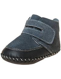 Poco Zapatos cordero azul bebé zapatos para caminar botines botas 3819 colour negro