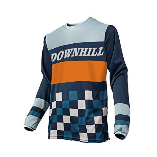 Uglyfrog Designs Erwachsener Motocross Jersey Cross Offroad Enduro Downhill Shirt Atmungsaktiv Lange Ärmel Rundhalsausschnitt or V-Ausschnitt -