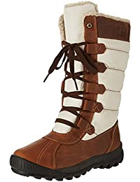 Timberland Damen Mt Hayes Fabric and Leather Waterproof Stiefel